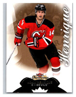 2014-15 Upper Deck Fleer Showcase #4 Adam Henrique NJ Devils NHL Mint