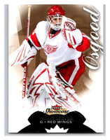2014-15 Upper Deck Fleer Showcase #18 Chris Osgood Red Wings NHL Mint