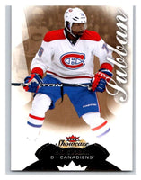 2014-15 Upper Deck Fleer Showcase #31 P.K. Subban Canadiens NHL Mint