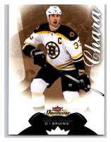 2014-15 Upper Deck Fleer Showcase #35 Zdeno Chara Bruins NHL Mint