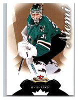 2014-15 Upper Deck Fleer Showcase #47 Antti Niemi Sharks NHL Mint