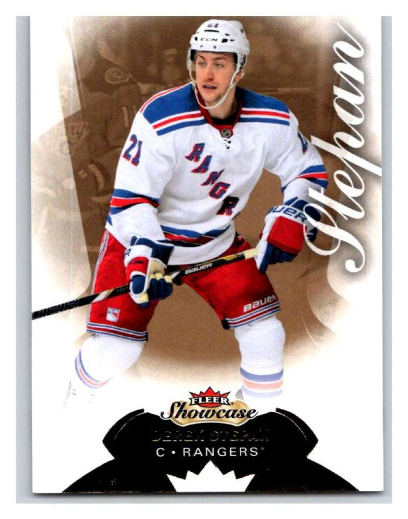 2014-15 Upper Deck Fleer Showcase #96 Derek Stepan NY Rangers NHL Mint