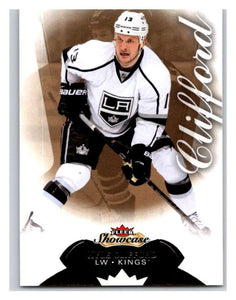 2014-15 Upper Deck Fleer Showcase #98 Kyle Clifford Kings NHL Mint