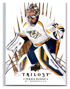 2014-15 Upper Deck Trilogy #3 Pekka Rinne Predators NHL Mint