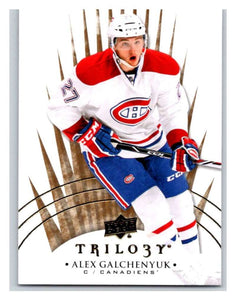 2014-15 Upper Deck Trilogy #11 Alex Galchenyuk Canadiens NHL Mint