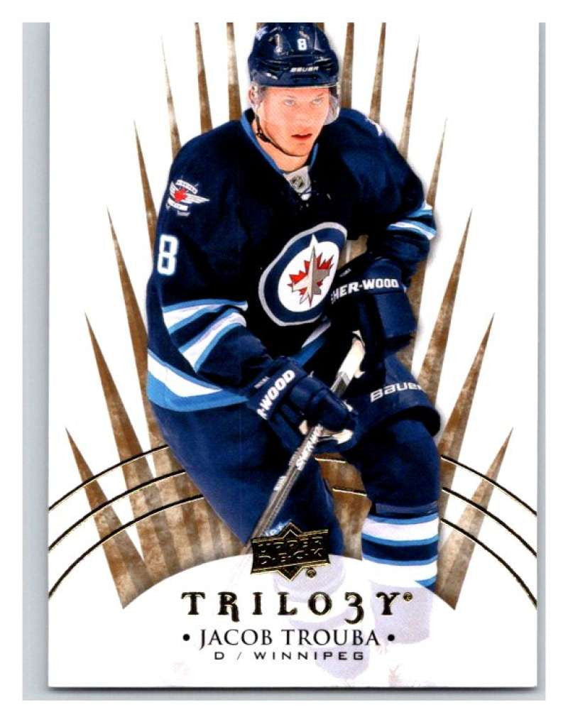 2014-15 Upper Deck Trilogy #15 Jacob Trouba Winn Jets NHL Mint