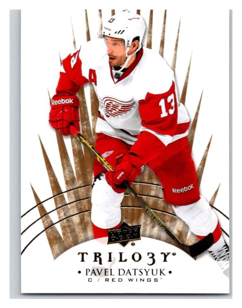 2014-15 Upper Deck Trilogy #19 Pavel Datsyuk Red Wings NHL Mint