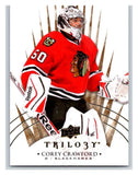 2014-15 Upper Deck Trilogy #25 Corey Crawford Blackhawks NHL Mint