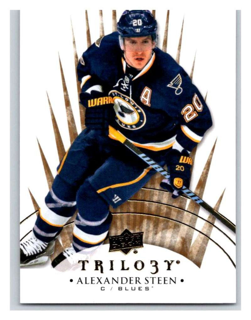 2014-15 Upper Deck Trilogy #28 Alexander Steen Blues NHL Mint