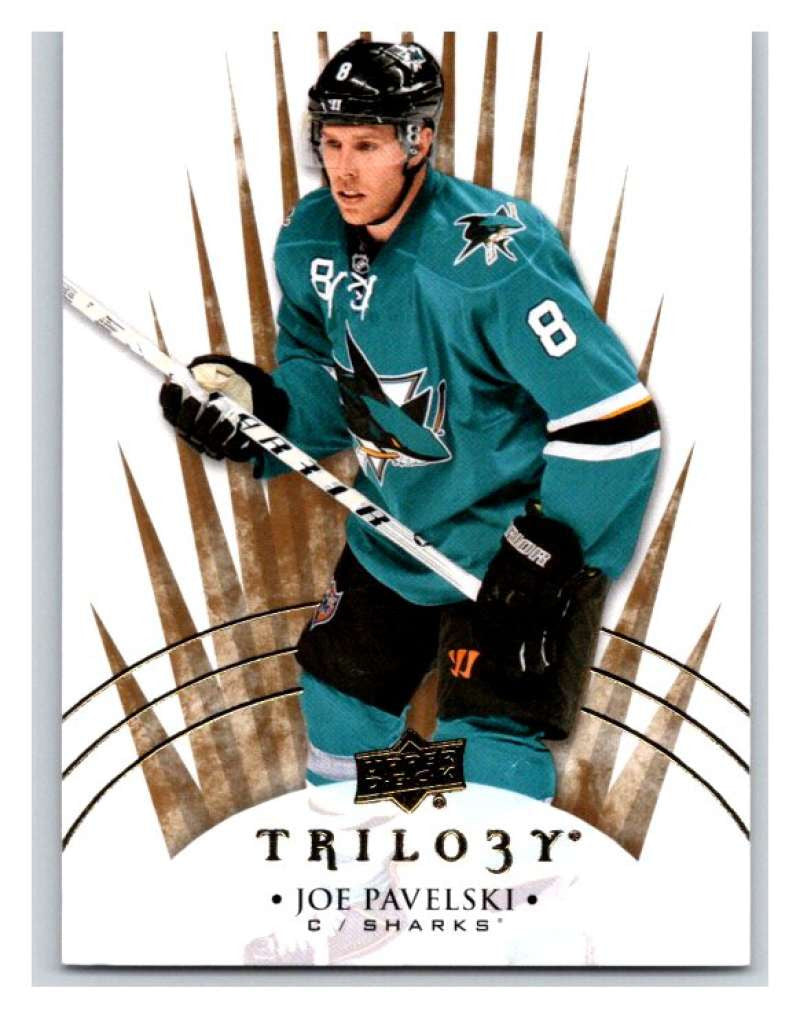 2014-15 Upper Deck Trilogy #30 Joe Pavelski Sharks NHL Mint