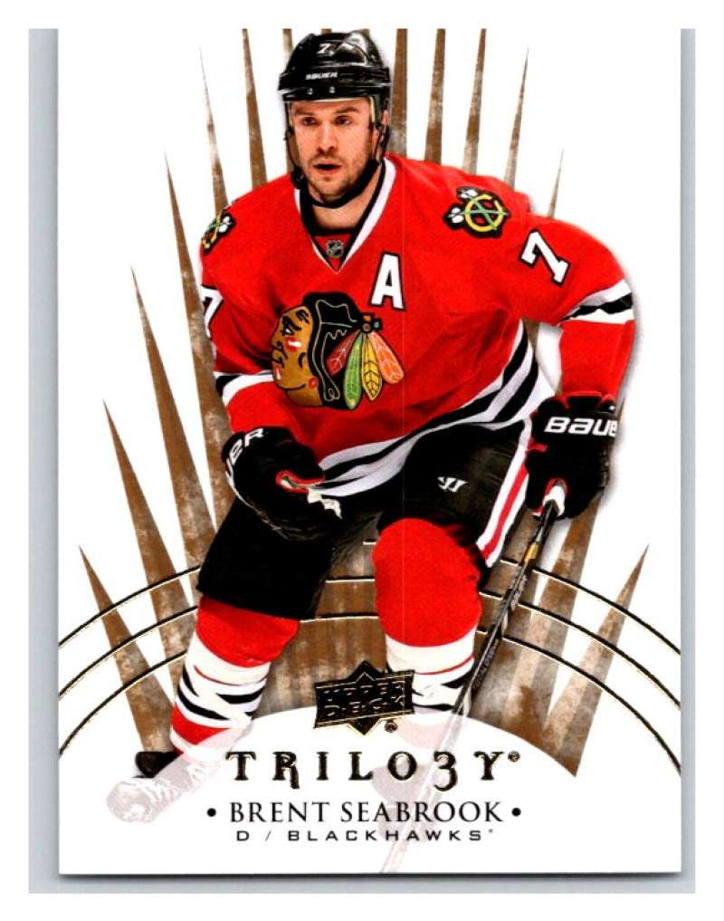 2014-15 Upper Deck Trilogy #34 Brent Seabrook Blackhawks NHL Mint