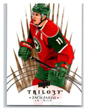 2014-15 Upper Deck Trilogy #36 Zach Parise Wild NHL Mint