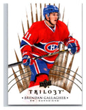 2014-15 Upper Deck Trilogy #37 Brendan Gallagher Canadiens NHL Mint