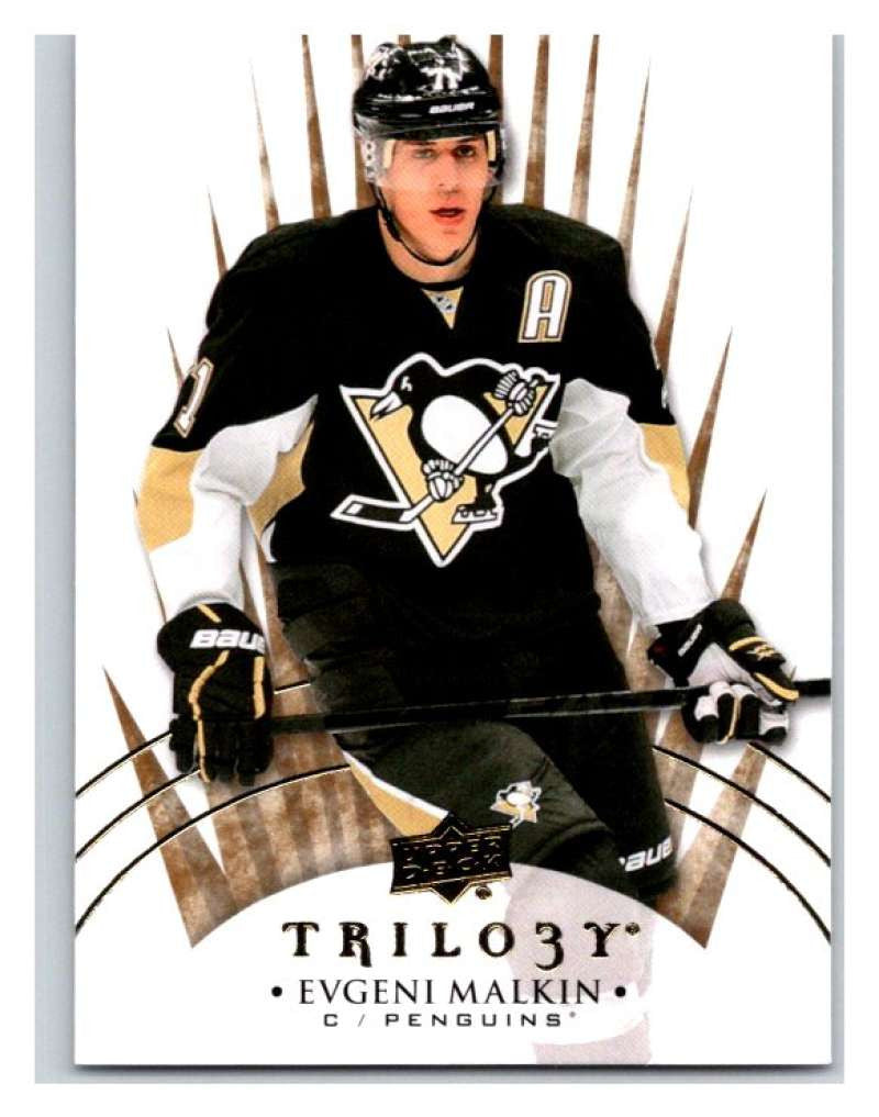 2014-15 Upper Deck Trilogy #39 Evgeni Malkin Penguins NHL Mint