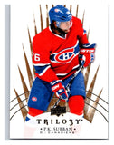 2014-15 Upper Deck Trilogy #46 P.K. Subban Canadiens NHL Mint