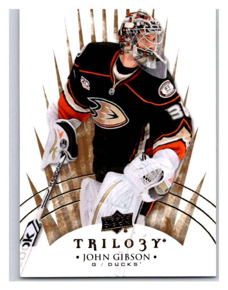 2014-15 Upper Deck Trilogy #50 John Gibson Ducks NHL Mint