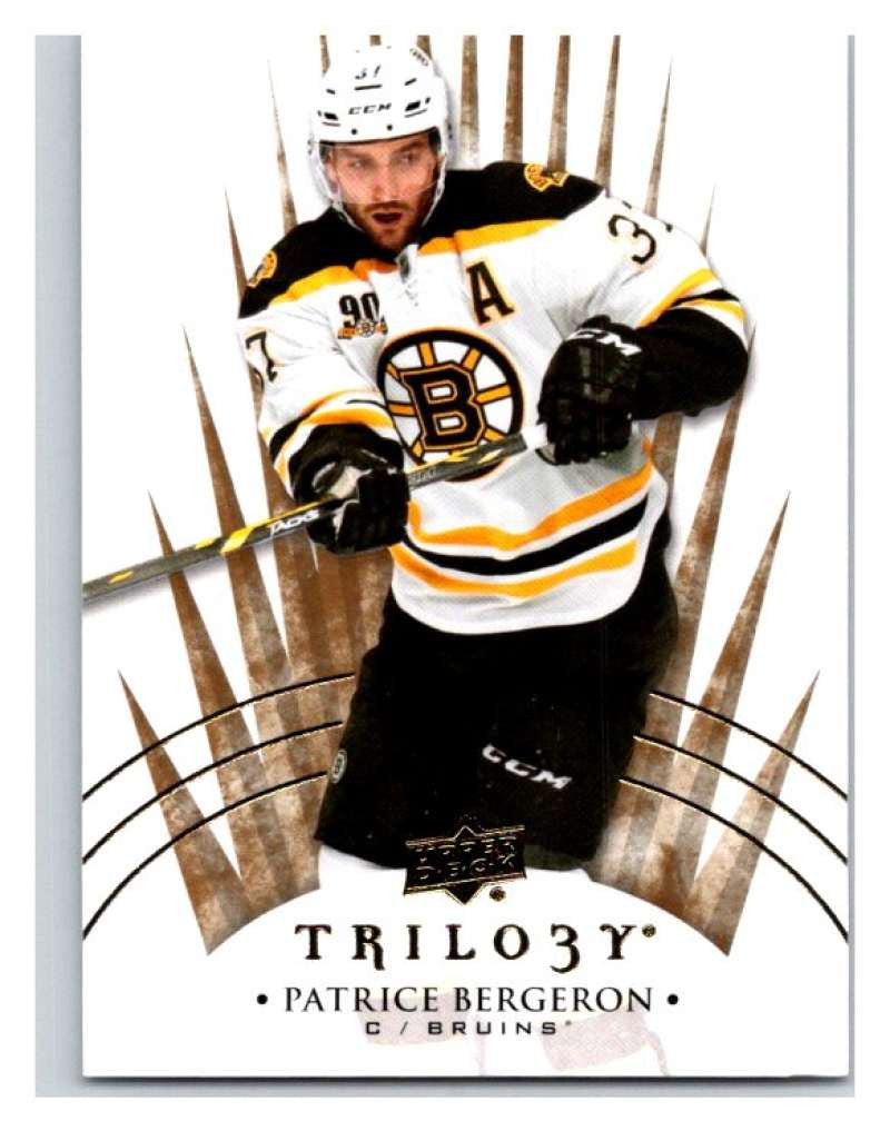 2014-15 Upper Deck Trilogy #54 Patrice Bergeron Bruins NHL Mint