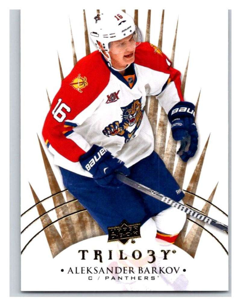 2014-15 Upper Deck Trilogy #55 Aleksander Barkov Panthers NHL Mint