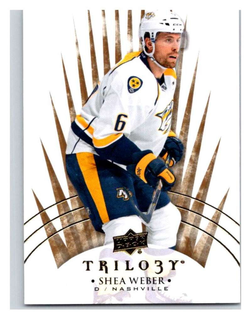 2014-15 Upper Deck Trilogy #57 Shea Weber Predators NHL Mint