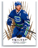 2014-15 Upper Deck Trilogy #58 Daniel Sedin Canucks NHL Mint