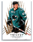 2014-15 Upper Deck Trilogy #73 Tomas Hertl Sharks NHL Mint
