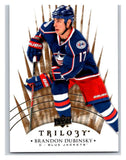 2014-15 Upper Deck Trilogy #77 Brandon Dubinsky Blue Jackets NHL Mint
