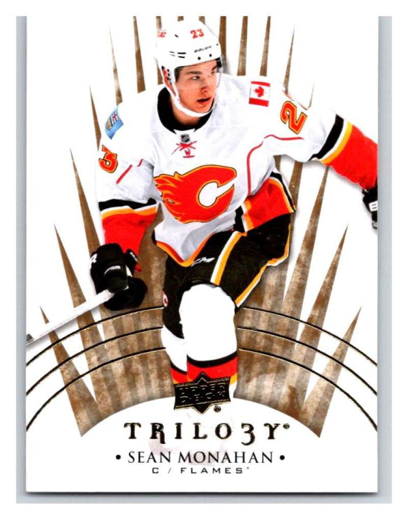 2014-15 Upper Deck Trilogy #84 Sean Monahan Flames NHL Mint