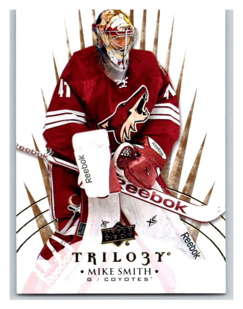 2014-15 Upper Deck Trilogy #85 Mike Smith NHL Mint