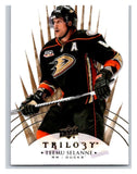 2014-15 Upper Deck Trilogy #92 Teemu Selanne Ducks NHL Mint