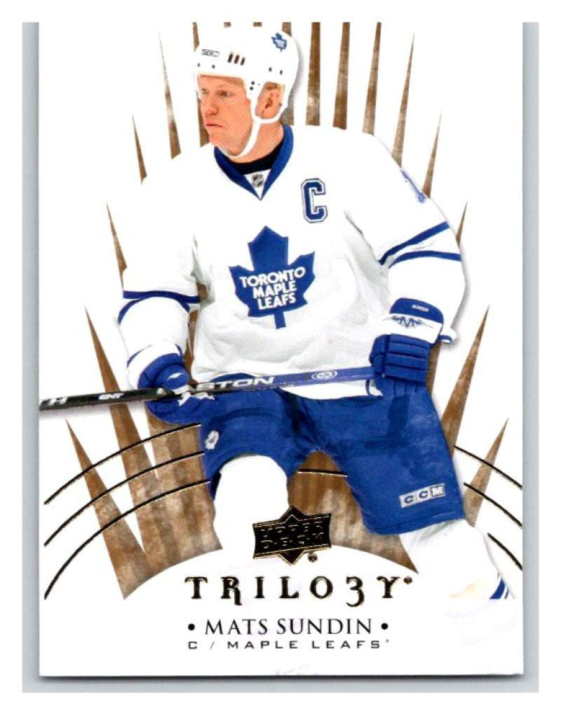 2014-15 Upper Deck Trilogy #96 Mats Sundin Maple Leafs NHL Mint