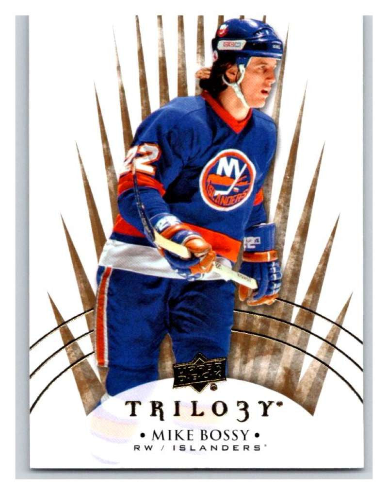 2014-15 Upper Deck Trilogy #98 Mike Bossy NY Islanders NHL Mint