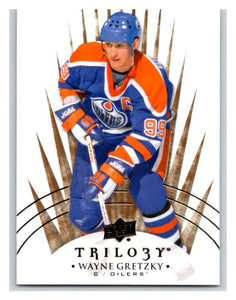 2014-15 Upper Deck Trilogy #99 Wayne Gretzky Oilers NHL Mint