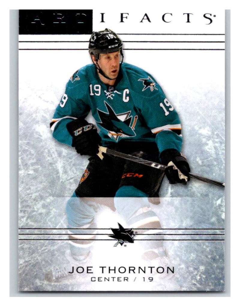 2014-15 Upper Deck Artifacts #16 Joe Thornton NHL Mint
