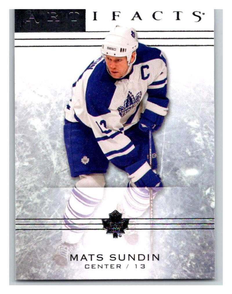 2014-15 Upper Deck Artifacts #23 Mats Sundin NHL Mint