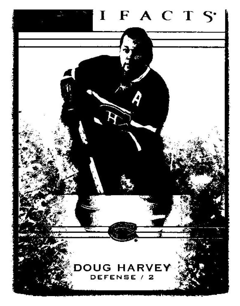 2014-15 Upper Deck Artifacts #27 Doug Harvey NHL Mint