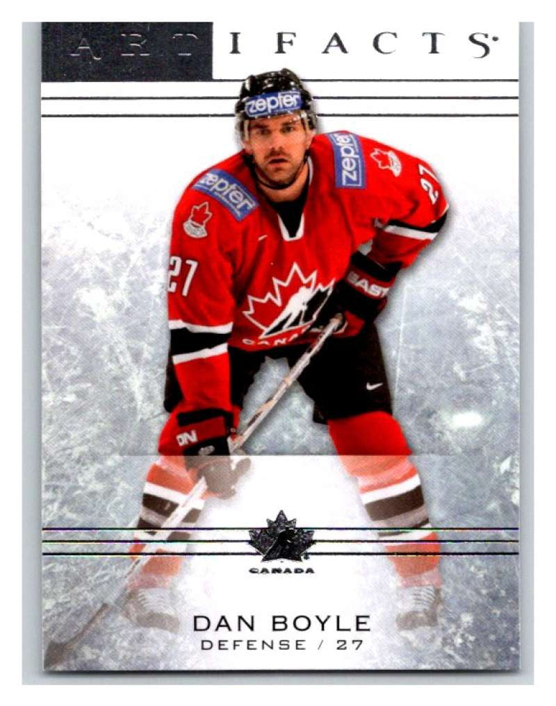 2014-15 Upper Deck Artifacts #82 Dan Boyle NHL Mint