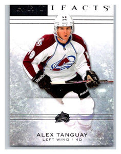 2014-15 Upper Deck Artifacts #86 Alex Tanguay NHL Mint