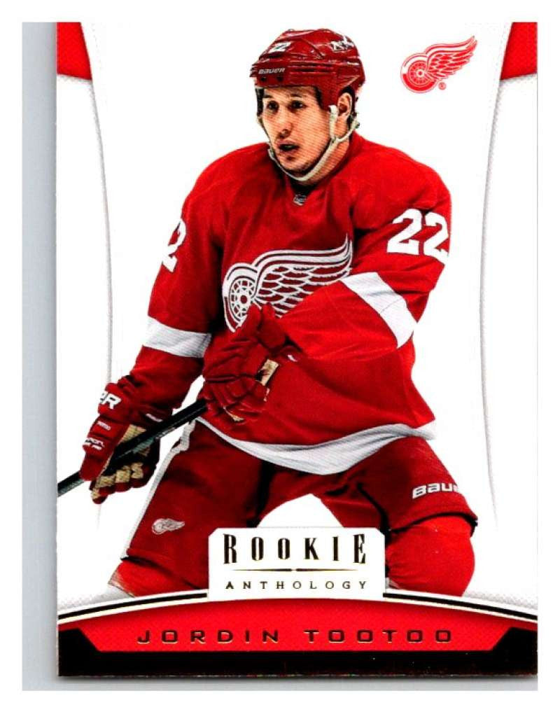 2012-13 Panini Rookie Anthology #16 Jordin Tootoo Red Wings NHL Mint