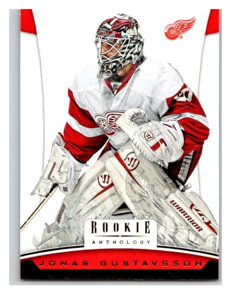 2012-13 Panini Rookie Anthology #20 Jonas Gustavsson Red Wings NHL Mint