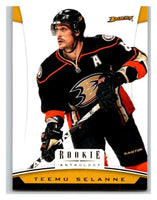 2012-13 Panini Rookie Anthology #21 Teemu Selanne Ducks NHL Mint