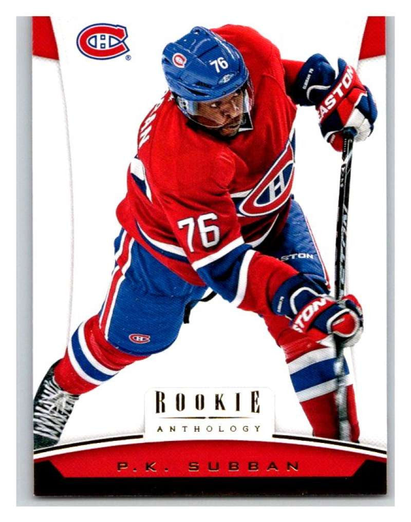 2012-13 Panini Rookie Anthology #86 P.K. Subban Canadiens NHL Mint