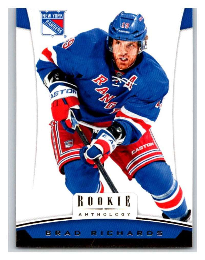 2012-13 Panini Rookie Anthology #89 Brad Richards NY Rangers NHL Mint