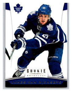 2012-13 Panini Rookie Anthology #97 James van Riemsdyk Leafs NHL Mint