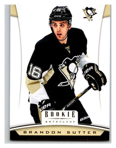 2012-13 Panini Rookie Anthology #99 Brandon Sutter Penguins NHL Mint