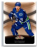 2015-16 Fleer Showcase #4 Daniel Sedin Canucks NHL Mint