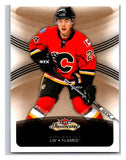 2015-16 Fleer Showcase #14 Jiri Hudler Flames NHL Mint