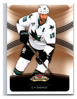 2015-16 Fleer Showcase #16 Joe Thornton Sharks NHL Mint