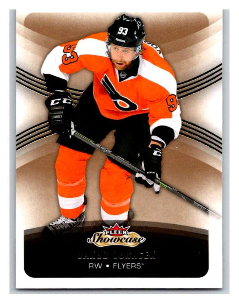 2015-16 Fleer Showcase #55 Jakub Voracek Flyers NHL Mint