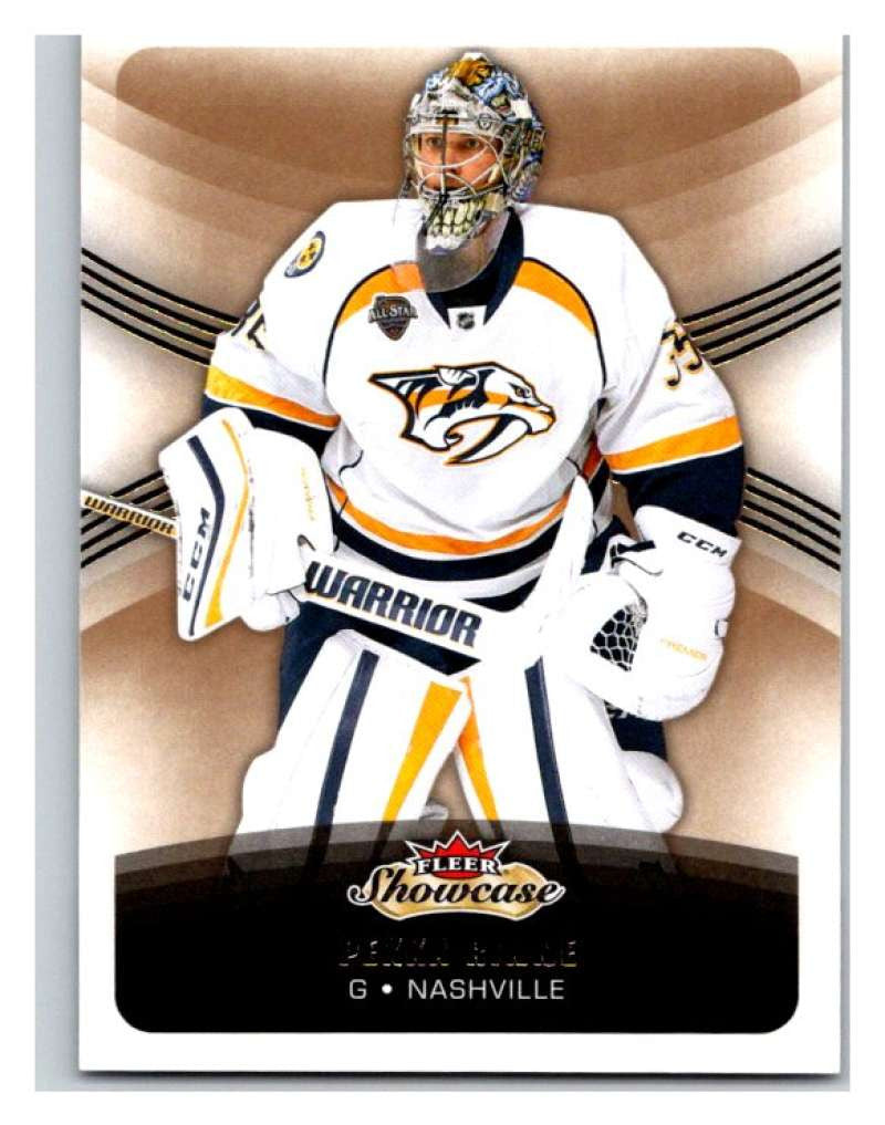 2015-16 Fleer Showcase #73 Pekka Rinne Predators NHL Mint