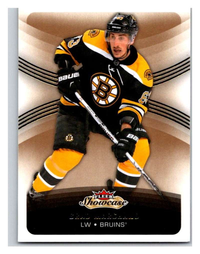 2015-16 Fleer Showcase #80 Brad Marchand Bruins NHL Mint
